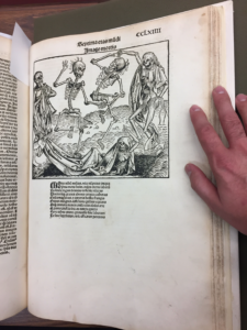 The University of Iowa's copy of The Nuremberg Chronicle